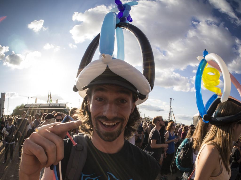 Luftballonhüte