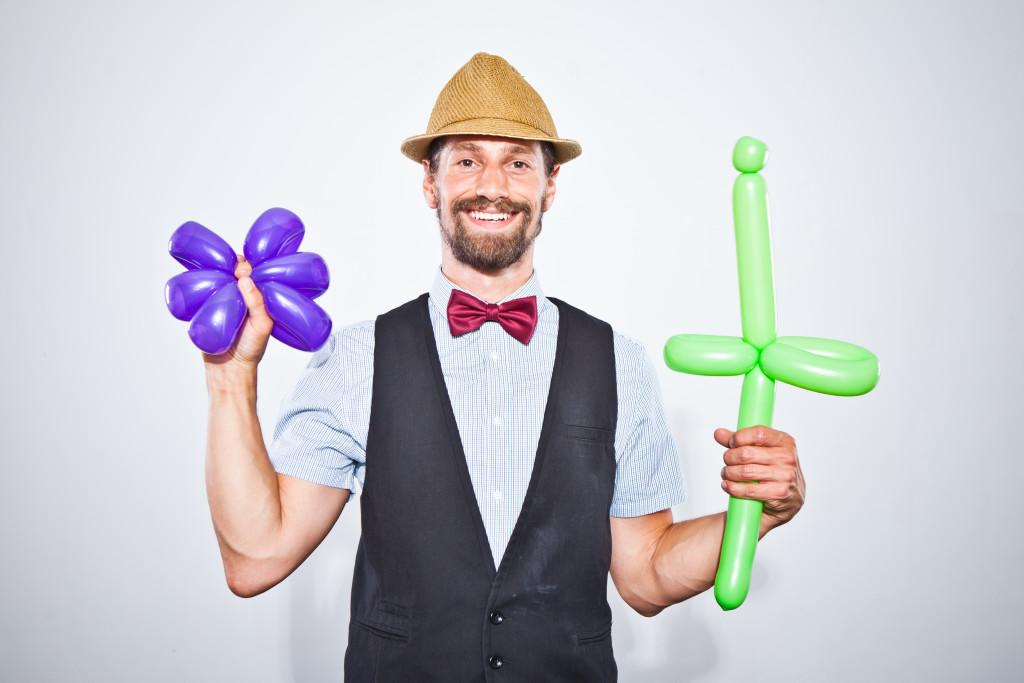 Luftballonkünstler Mister Rubelli